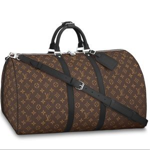❤️Louis Vuitton Keepall Bandouliere 55 ❤️